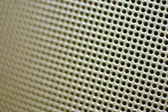 Nahaufnahme-Lautsprecher-Grill stockbild