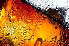 Nahaufnahme misted Glas Whisky Stockfoto