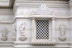 Nahaufnahme mit Details des indischen Tempels Stockfotografie