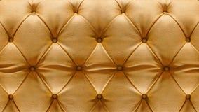Nahaufnahme-Polsterung Sofa Leather Backdrop Lizenzfreie Stockbilder