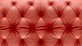 Nahaufnahme-Polsterung Sofa Leather Backdrop Stockfoto