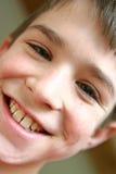 Nahaufnahme-Portrait des Jungen Lizenzfreies Stockfoto