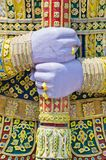 Nahaufnahme-Riese-Hand lizenzfreie stockbilder