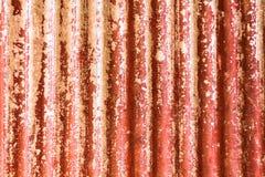 Nahaufnahme Rusted galvanisierte Stockbilder