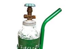 Nahaufnahme-Sauerstoffflasche Lizenzfreie Stockfotografie