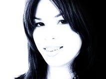 Nahaufnahme-schöne junge Frau Lizenzfreie Stockbilder