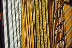 Nahaufnahme-Seide-Krawatte Stockbild