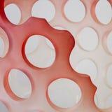 Nahaufnahme Vase des modernen Designs Stockfotos