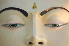 Nahaufnahme von Buddha-Skulptur Stockbild