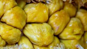 Nahaufnahme von cempedak Brotfruchtbaum-ganzer Zahl Diese Frucht ist zu Südostasien gebürtig lizenzfreie stockbilder