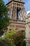 Paris Eiffelturm stockfotos