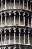 Nahaufnahme von Pisa-Turm stockfoto