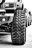 Nahaufnahme von SUV-Reifen Lizenzfreies Stockfoto