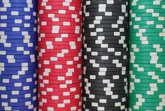 Kasino bricht Hintergrund ab Stockfotografie
