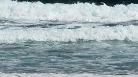 Nahaufnahme von Wellen stock footage
