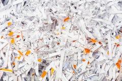 Nahaufnahme zerrissenes Papier Lizenzfreie Stockbilder