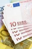 Euros Stockfoto