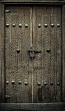 Nahaufnahmebild der alten Türen lizenzfreie stockfotos