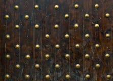 Nahaufnahmebild der alten Türen Lizenzfreies Stockbild