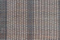 Nahaufnahmedesign Handcraft natürlichen Hintergrund der Mustergewebebeschaffenheit Lizenzfreies Stockfoto