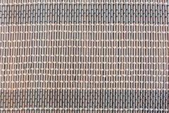 Nahaufnahmedesign Handcraft natürlichen Hintergrund der Mustergewebebeschaffenheit Lizenzfreie Stockbilder
