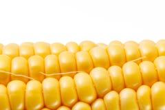 Nahaufnahmefoto der gelben Maishintergrund-, gesunder und geschmackvollernahrung stockbilder