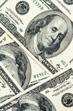 Nahaufnahmegeld-Dollarhintergrund Lizenzfreie Stockfotografie
