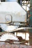Nahaufnahmegranitschneidemaschine Lizenzfreie Stockbilder