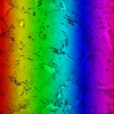 Nahaufnahmehintergrund und Beschaffenheit der Korkenbrettholzoberfläche, Spektrum gemalt lizenzfreie stockfotos