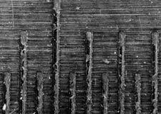 Nahaufnahmemakrofoto, abstrakter Hintergrund, eines Badspiegels, 5 Millimeter Stockbilder