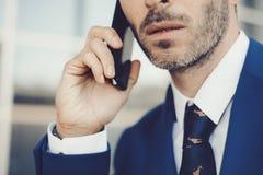 Nahaufnahmeporträt des eleganten männlichen Modus Lizenzfreie Stockfotos
