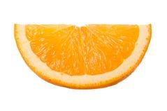 Nahaufnahmescheibe der Orange Lizenzfreie Stockbilder