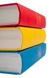 Nahaufnahmeschuß des Stapels Bücher Lizenzfreies Stockbild