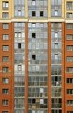 Nahe Ansicht über residental Gebäude Stockbild