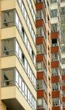 Nahe Ansicht über residental Gebäude Stockfoto