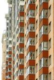 Nahe Ansicht über residental Gebäude Lizenzfreie Stockbilder