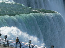 Nahe Ansicht bei Niagara Lizenzfreie Stockfotografie