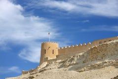Nahe Ansicht des westlichen Kontrollturms vom Hunanaiya Tal lizenzfreie stockfotos