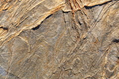 Nahe Ansicht eines Felsengesichtes Stockfotos
