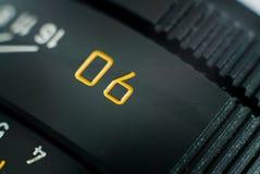 Nahe Ansicht eines leica Objektivs lizenzfreie stockfotos