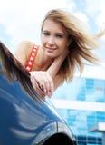 Nahe dem Auto Lizenzfreies Stockbild