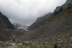 Nahe dem Gletscher Stockbild