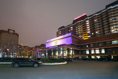 Nahe dem Haupteingang des Präsidenten Hotel Stockfoto