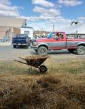 Nahe den Viehbestand-Scheunen beim 164. großen Allentown angemessen Lizenzfreie Stockfotos