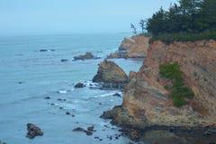 Nahe Kap Arago, Oregon-Küste Stockbilder