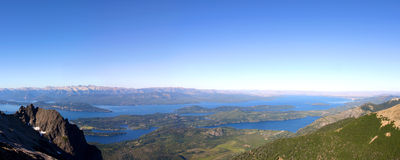 Nahe San Carlos de Bariloche, Argentinien Lizenzfreie Stockfotos