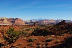 Nahe Waterpocket Falte Utah lizenzfreies stockfoto