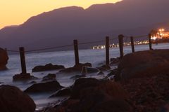 Nahe zum Meer lizenzfreie stockbilder