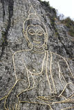 Naher Schuss von Buddha-Bild Lizenzfreie Stockfotos