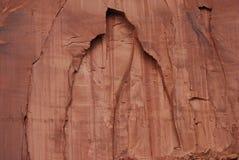 Nahes Ansicht-Felsen-Gesichts-Monument-Tal Stockbild